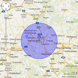 Schlüsseldienst Hannover Einsatzgebiete